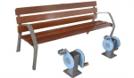 Pedals with bench